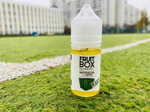 Жидкость Fruit Box Salt Watermelon and Apple вкусипар.рф