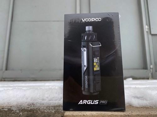 Набор Voopoo Argus Pro стальной вкусипар.рф