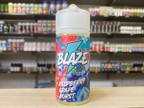 Жидкость Жидкость Blaze on Ice Raspberry Grape Burst вкусипар.рф
