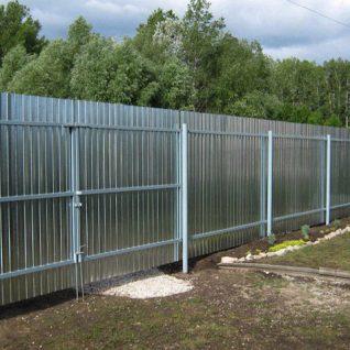 забор оцинкованый