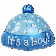 Фольгированный шар шапочка для мальчика