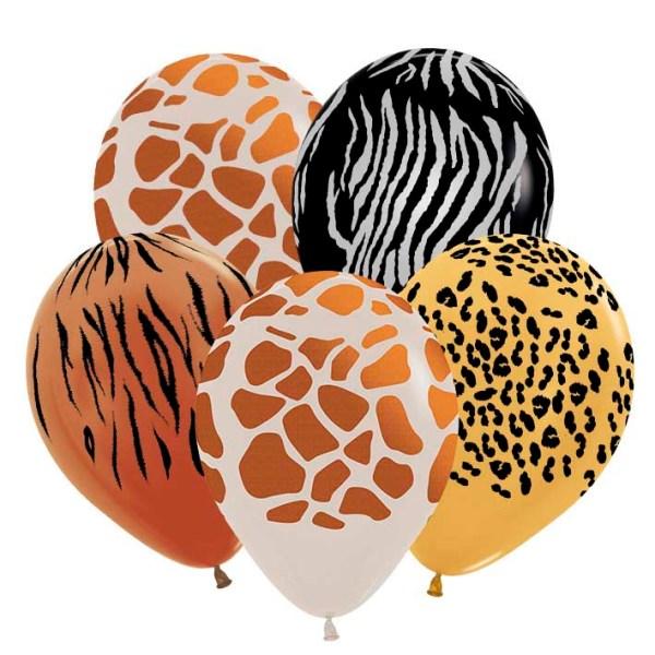 Воздушный шар сафари с гелием