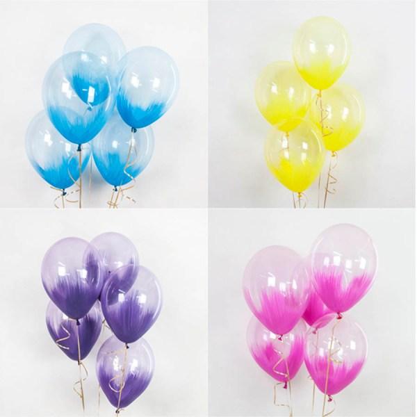 Воздушные шары браш с гелием
