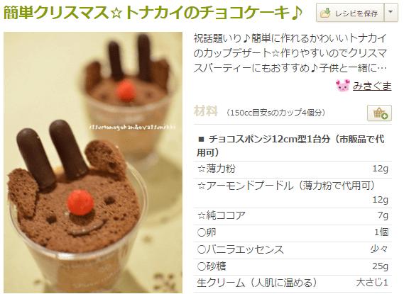 chr5 クリスマスかわいいデコケーキレシピ集!クックパッドで人気はコレ♪