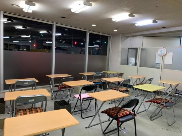 徳島市で自習室を完備している学習塾
