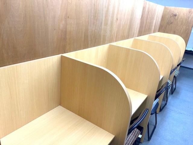12月17日に藤原塾の個別指導スペース、自習室が大幅リニューアル!