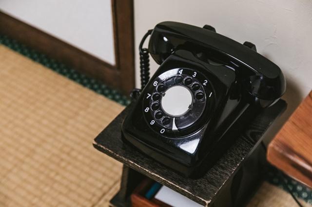 生活保護者の自宅電話