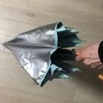 消防服素材の日傘