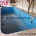 Полипропиленовый бассейн с противотоком и диодным освещением