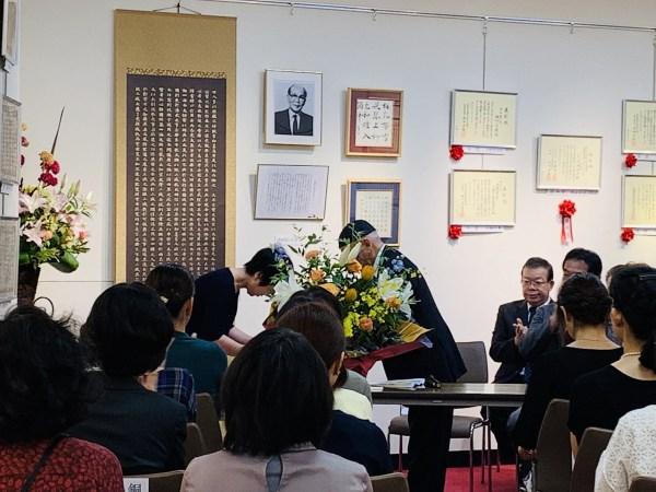 日本賞状技法士協会が主催する賞状の展覧会『前田展』が開催