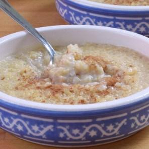mazamorra de quinoa