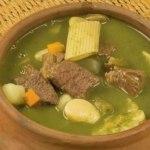 receta de menestron peruano