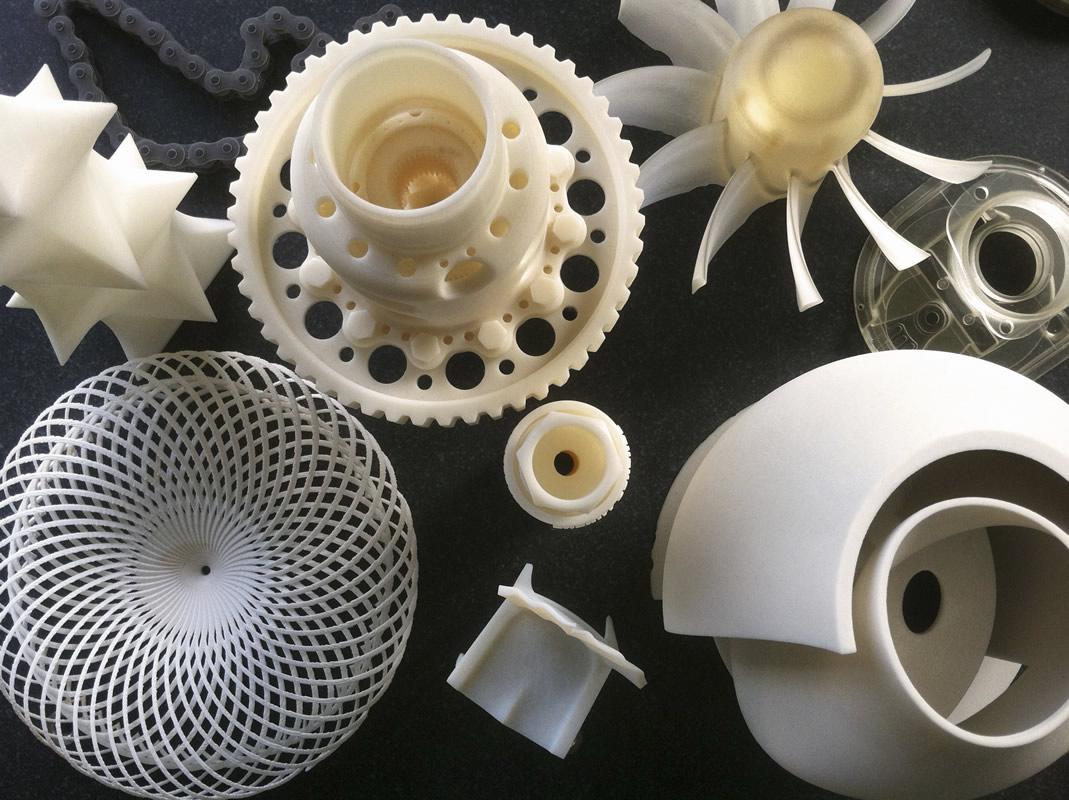 3D Printede plastemner