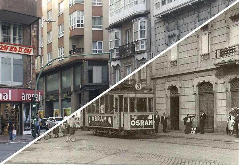 Avenida Rubine antes y después