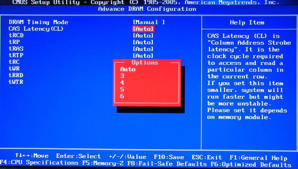 Modifica delle impostazioni del BIOS