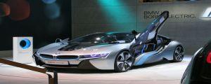 Лазерни фарове на BMW i8 Concept