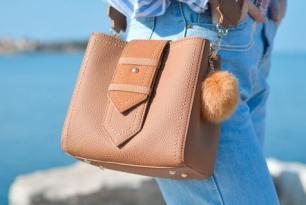 Естествената кожа за дамска чанта