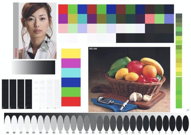 Экранная цветопроба - Профиль принтера Epson Stylus Photo 1410 для сатинированной фотобумаги Epson Luster Photo Paper