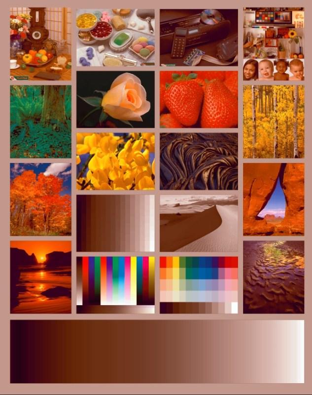 Цветовой профиль принтера Epson L312   Имитация печати без профиля