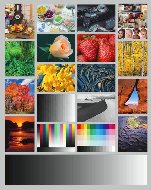 Цветовой профиль принтера Epson L312   Цветопроба