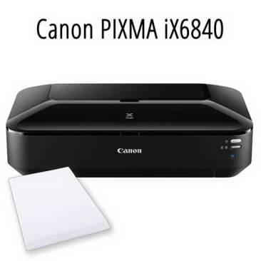 Цветовой профиль принтера Canon PIXMA iX6840