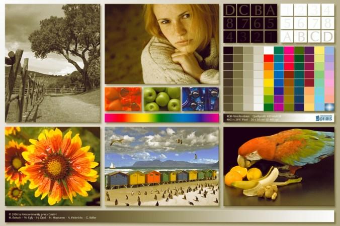 Цветовой профиль принтера Canon PIXMA iX6840 | Имитация печати без профиля