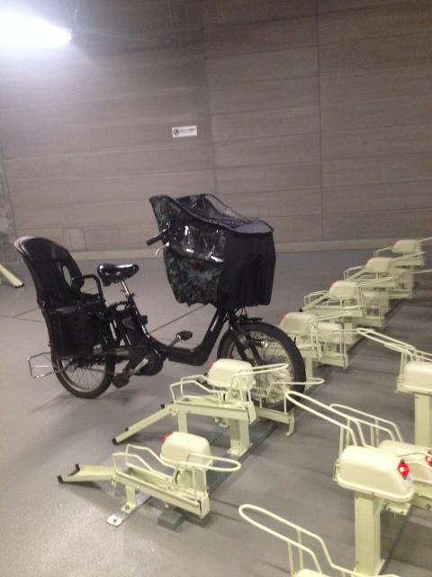 街の駐輪施設