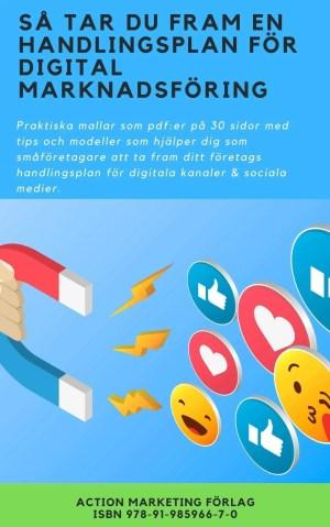 Bok handlingsplan för digital marknadsföring