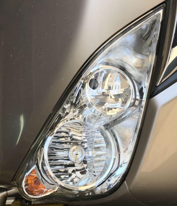 ホンダ ステップワゴン RG1 ヘッドライト磨き!施工後