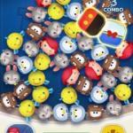 ツムツム8月 1-4 1プレイで2コのブロックをミッキーの柄にあわせよう