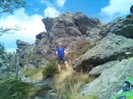 Kurz vor dem Gipfel des Großen Ossers