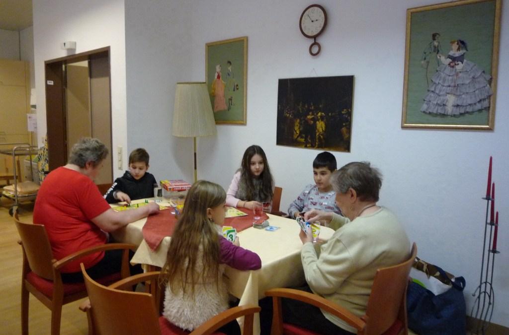 GTVS Reichsapfelgasse besucht das Haus Rudolfsheim