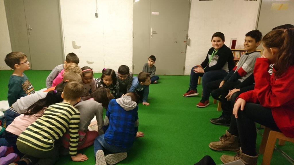 Vorlesen im Kindergarten Dadlergasse