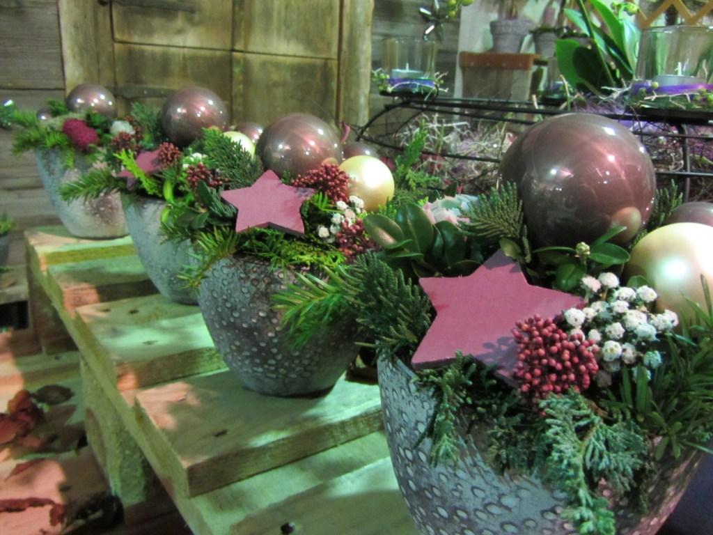 Blumen-Gärtnerei Müller Sarnen Schweiz Weihnachtsausstellung 2013