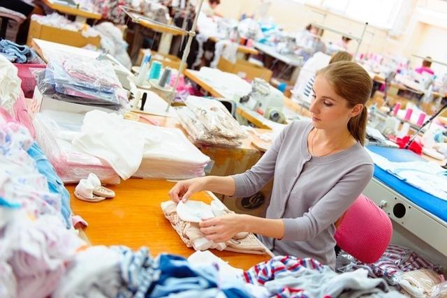klær mote produksjon