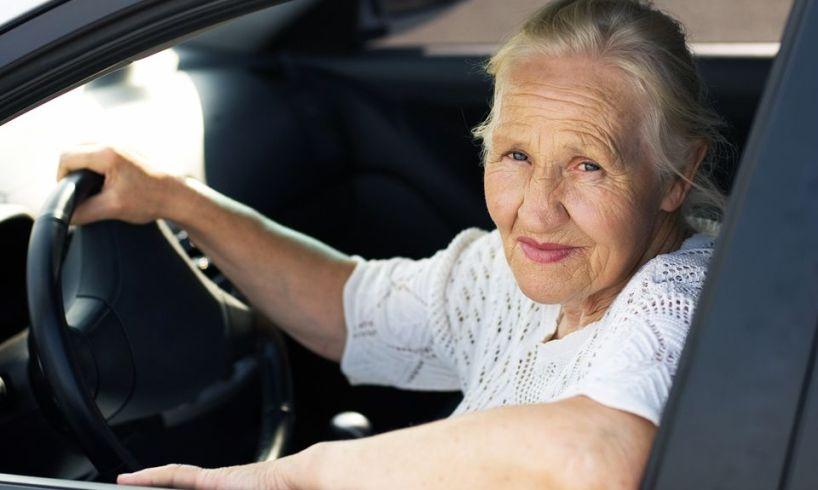 eldre bilfører