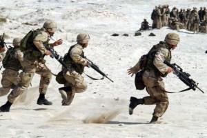 soldater ørken