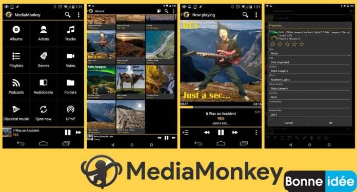 Media Monkey app