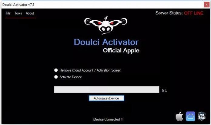 doulci activator icloud bypass tool