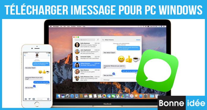 Télécharger iMessage pour PC Windows