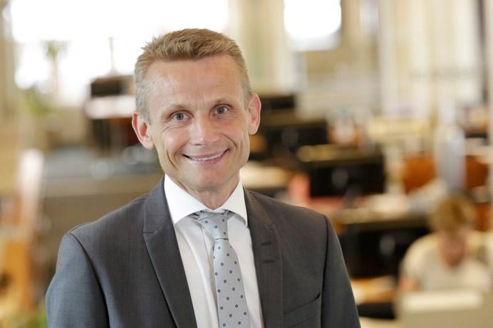 Bankdirektør Claus Andersen