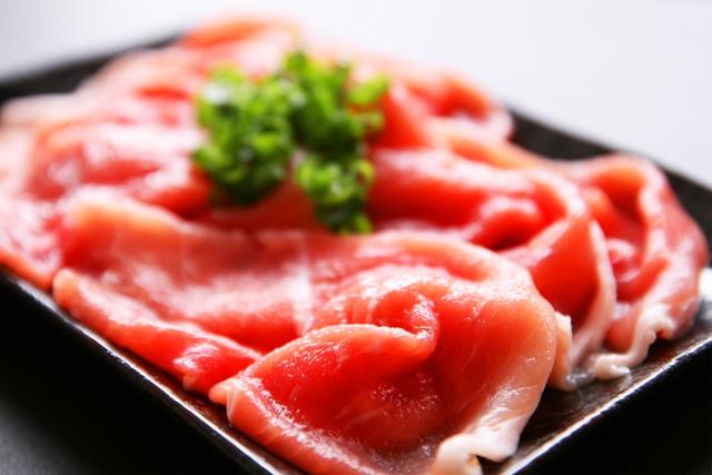 豚肉は冷蔵保存がよい