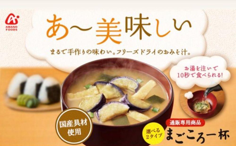フリーズドライの味噌汁