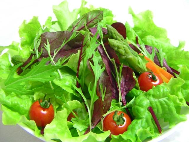 レタスのサラダと賞味期限