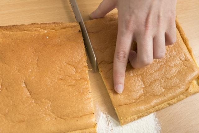 スポンジケーキの保存方法