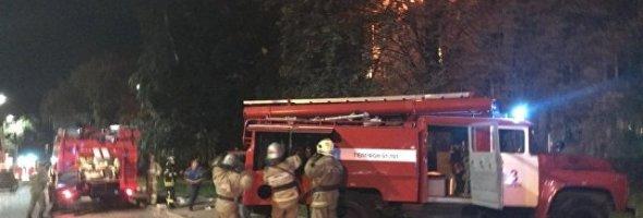 14.08.18 — взрыв газа в многоквартирном доме в Орле