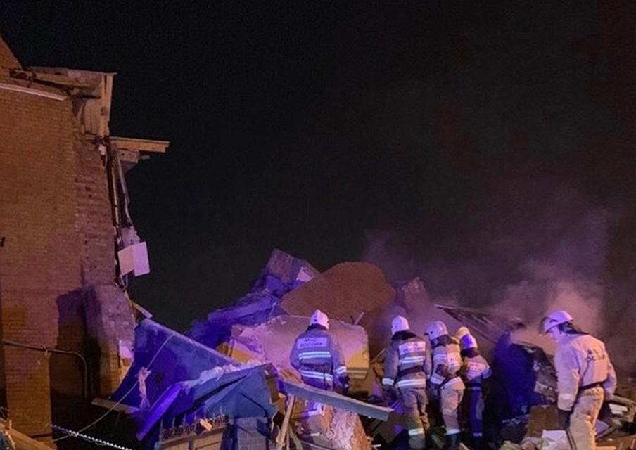 Взрыв прогремел после полуночи. Фото: Алена Дашкова