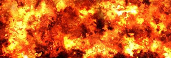 03.11.18 — Взрыв газа спровоцировал серьезный пожар под Петрозаводском