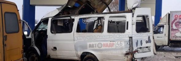 11.01.19 — взрыв газа в микроавтобусе на АГЗС в Курской области