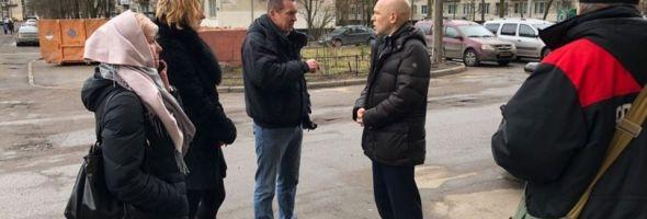 20.03.19 — жители одного из районов Санкт-Петербурга вновь жалуются на ощутимый запах газа